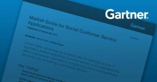 Gartner: Market Guide for Social Customer Service Applications