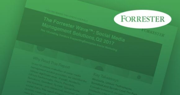 Forrester Wave: Social Media Management Solutions, Q2 2017