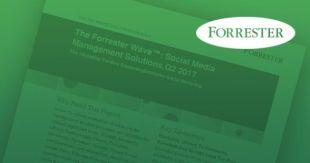 Forrester Wave: Social Media Management Solutions, Q2 2017