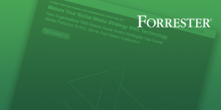 Forrester Study: Mature Your Social Media Strategy with Technology