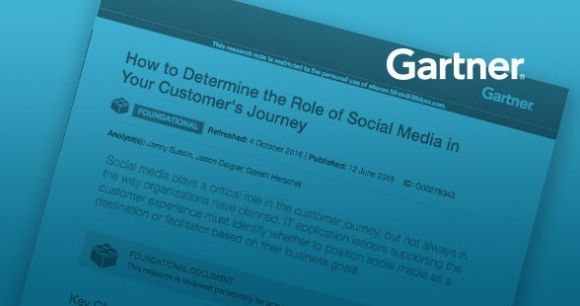 Gartner: How to Determine the Role of Social Media in Your Customer's Journey