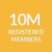 10M Registered Members