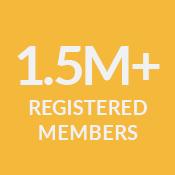 1.5+ Registered Members