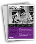 Download the Sony Customer Story PDF.