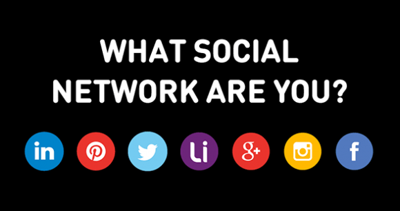 Which social network are you?