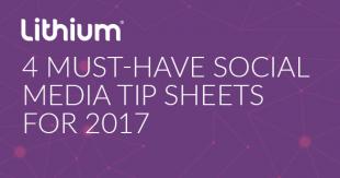 4 Must-Have Social Media Tip Sheets for 2017