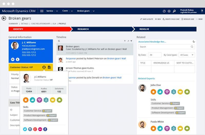 Holistic Customer Profile